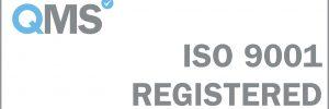 ISO 9001 Registered - White