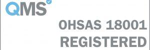 OHSAS 18001 Registered - White